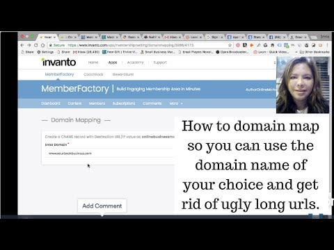 How to' do domain mapping to redirect your url to your domain name at Internetbs