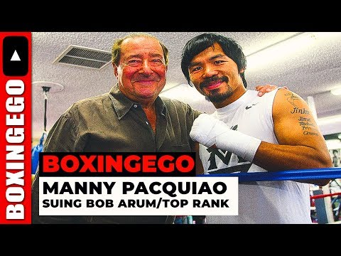 MANNY PACQUIAO SUING TOP RANK!!!! AINT GOT PAID FOR PACQUIAO VS MATTHYSSE ON ESPN+ (NO WAY!!)