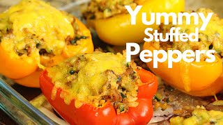 How To Make Easy Mexican Stuffed Bell Peppers