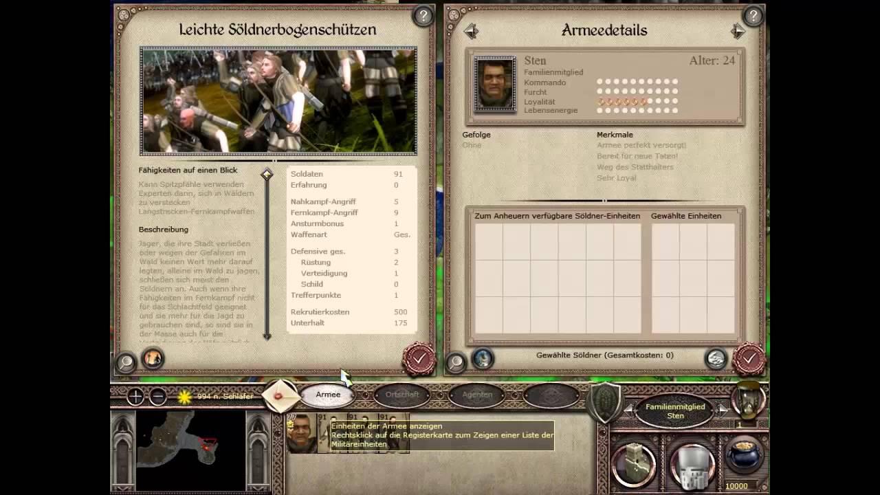 Let S Play Medieval 2 Total War Gothic Total War 01 Ratlos In Myrtana Youtube