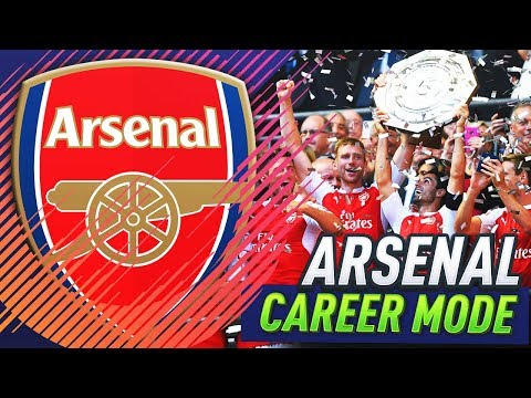 FA COMMUNITY SHIELD!!! FIFA 18 ARSENAL CAREER MODE #2