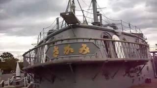 Admiral Togo Battleship Mikasa Stern 艦尾 記念艦「三笠」について 三...