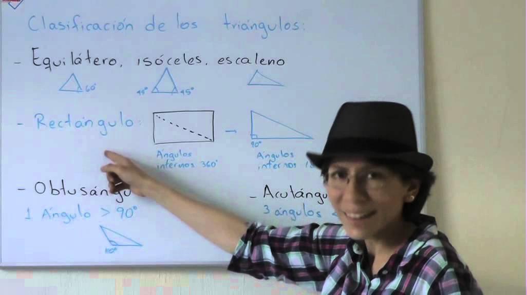 Clasificacion de los triángulos