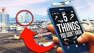 5 things you still don't know about gta 5! (secrets & easter eggs)