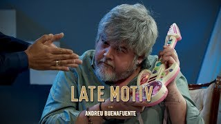 LATE MOTIV - Javier Coronas y la guitarra del Chiki-Chiki   #LateMotiv551