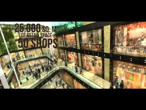 Le centre commercial PRADO à Marseille