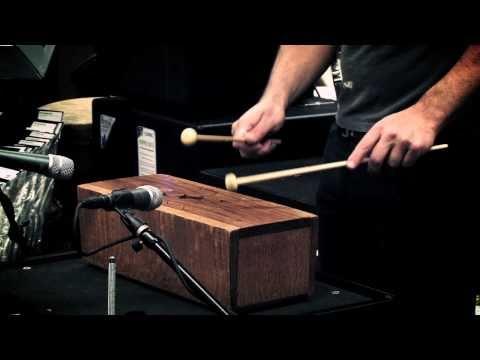 Stephen Perkins  African Slit Drum at Guitar Center Sessions