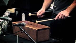 Stephen Perkins - African Slit Drum at Guitar Center Sessions