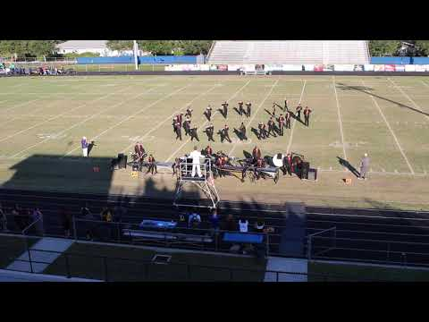 Countryside High School Band of Pride at the Largo Golden Invitational 10-12-19