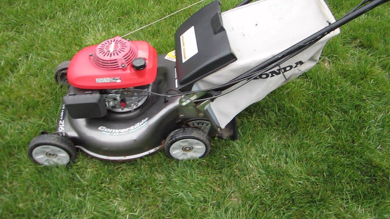 honda harmony ii hrt 216 sda it s alive lawn mower repair part rh youtube com Honda HRT216 Parts Diagram HRT216 Transmission
