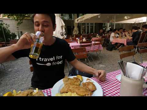 THE ULTIMATE German Food Tour - Schnitzel And Sausage In Munich, Germany!