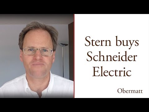 Stern bought Schneider Electric from Obermatt's Top 10 CAC  All Index