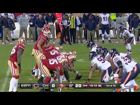 NFL 2012 Week 11 Bears at 49ers