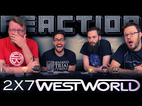 Westworld 2x7 REACTION!!