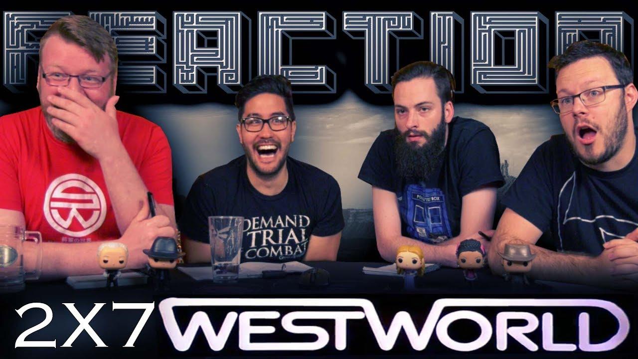 """Download Westworld 2x7 REACTION!! """"Les Écorchés"""""""