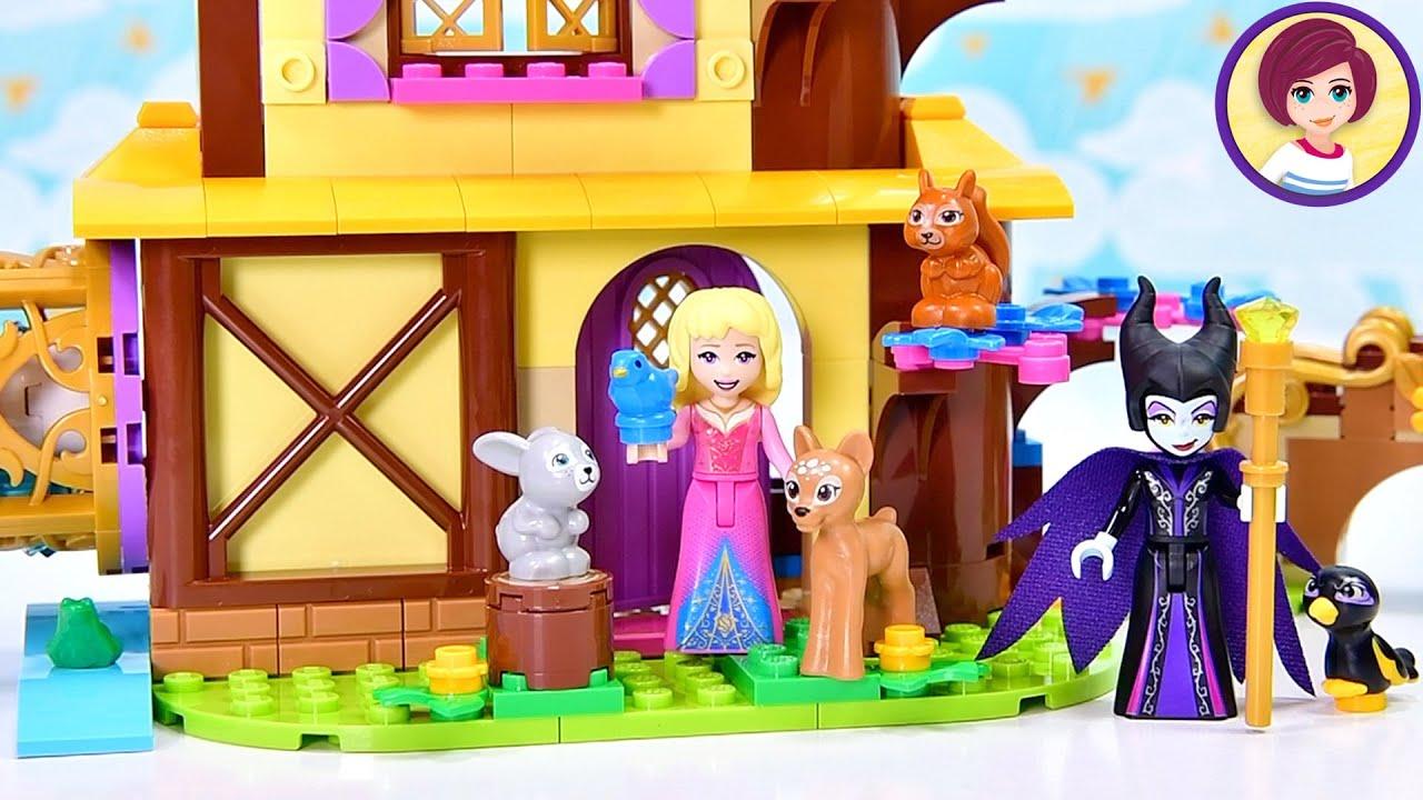 Aurora's Forest Cottage - Lego Disney Princess Build & Review