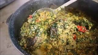 The perfect way  to make Nigerian party Egusi soup