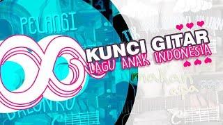 8 Kunci Gitar Lagu Anak Indonesia Terpopuler