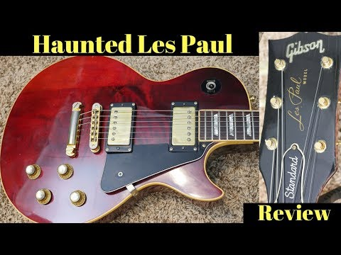 The Seller Says this Guitar is Haunted... Here's Why! | 1976 Gibson Les Paul Standard Wine Red Demo