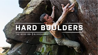 Hard Gritstone Bouldering with Jim Pope