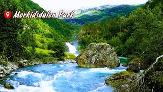 Water Stream Sounds For Relaxing Sleep Music - Nature Sounds , Meditation Music, Study Music
