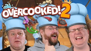 Absolutes Chaos in der Küche 🎮 Overcooked 2