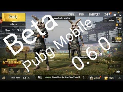Como jogar a Beta do Pubg Mobile Global oficial 0.6.0