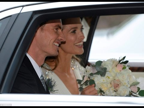 STOP PRESS happy couple...Andy Murray and Kim Sears married in Dunblane Cathedral