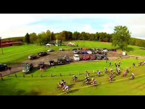 Western New York Cyclocross aerial view