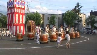 2017年7月29日 伏古ふれあい祭り 石狩荒波太鼓