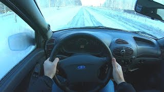 2012 ЛАДА КАЛИНА 1.6L MT (82) POV TEST DRIVE