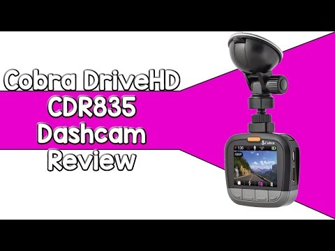 Cobra DriveHD CDR835 Dashcam Review