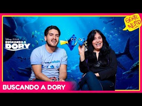 Doblaje BUSCANDO A DORY (Patty Palestino, Memo Aponte, Silvia Navarro y más) || Gente Nerd