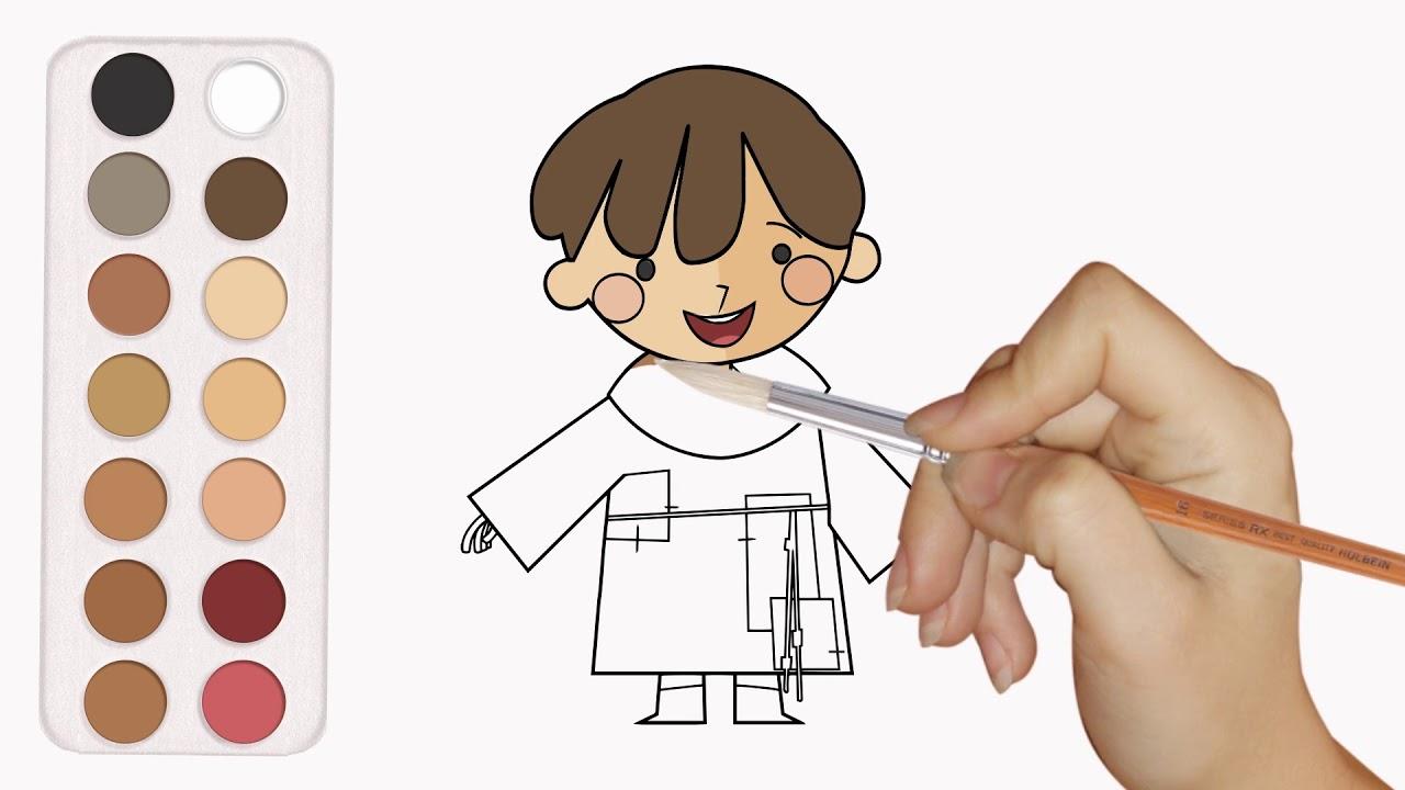 Desenhos Para Colorir Pequeno Francisco Mensagem De Deus Para