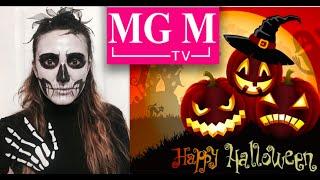 Как сделать грим макияж Зомби Скелета на Хэллоуин? Zombie Skeleton Halloween Makeup DIY