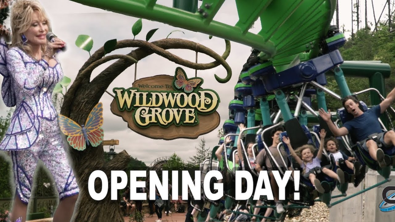 Wildwood Grove Dollywood Grand Opening (with Dolly Parton) May 2019