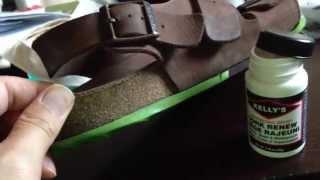 Birkenstock Repair - Seal Cork - Kelly s Cork Renew maintenance