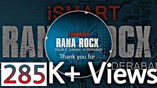 @Ismart Shankar BGM #by Rana Røcx 😎
