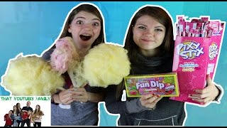 Pixy Stix Cotton Candy  / That YouTub3 Family