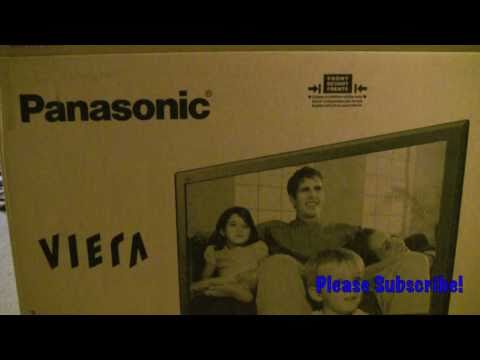Panasonic TC-P42C2 42 plasma - Unboxing!