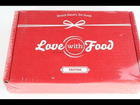 Love with Food February 2016 Tasting Box Review/Tasting + Coupon Codes @LovewithFood