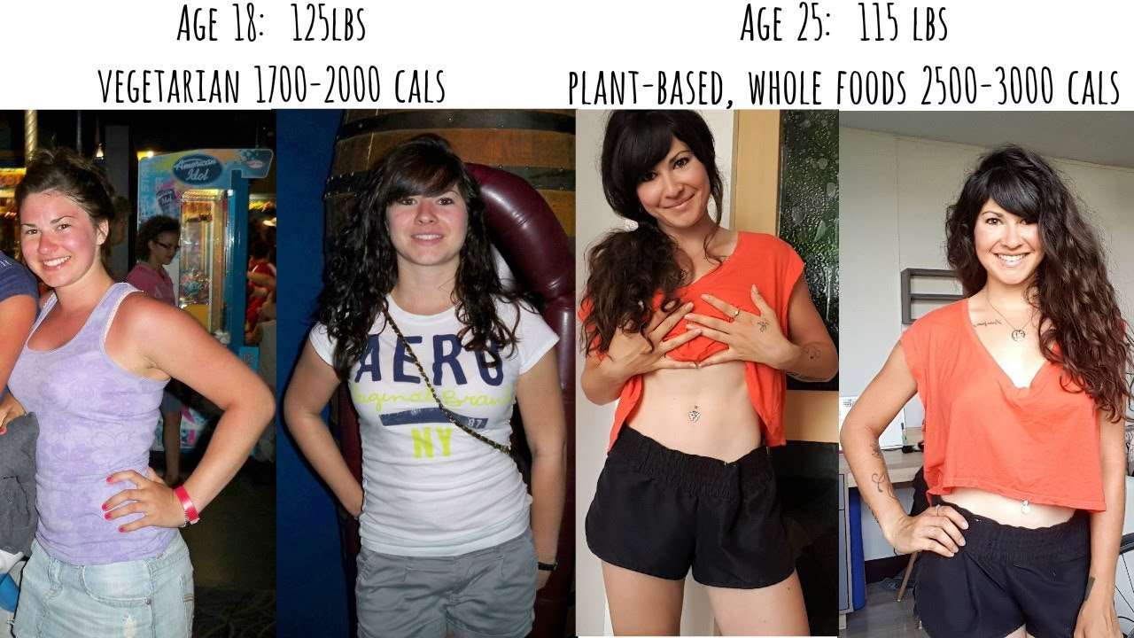 Whole Food Plant Based Diet Before And After