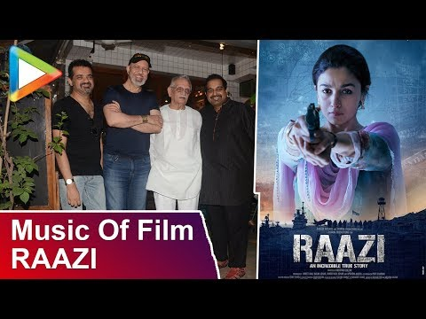 Shankar–Ehsaan–Loy Talk About Music Of Film Raazi