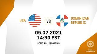 CFC 2021 | United States vs Dominican Republic
