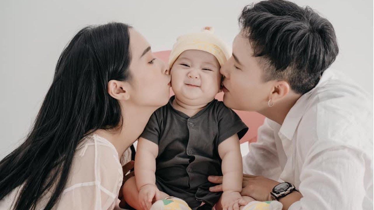 Em gái Nhã Phương khoe loạt ảnh gia đình hạnh phúc,chú ý nhất là khoảnh khắc con gái siêu đáng yêu