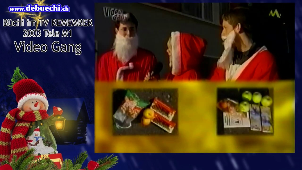 Remember Video Weihnachten. THE GAME bei VIDEO GANG! 2003 ! - YouTube
