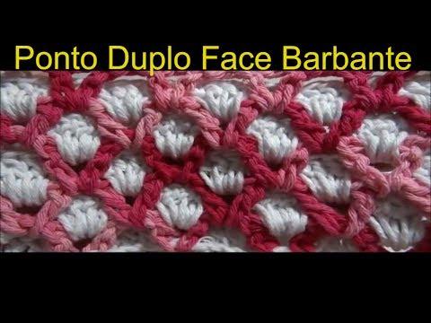 Ponto Duplo Face Barbante Barroco - Professora Simone