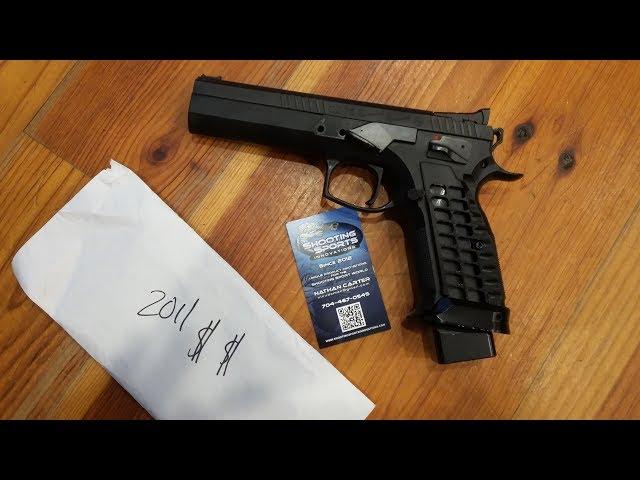 CZ Tactical Sports Orange Upgrades & 2011 Pistol Update
