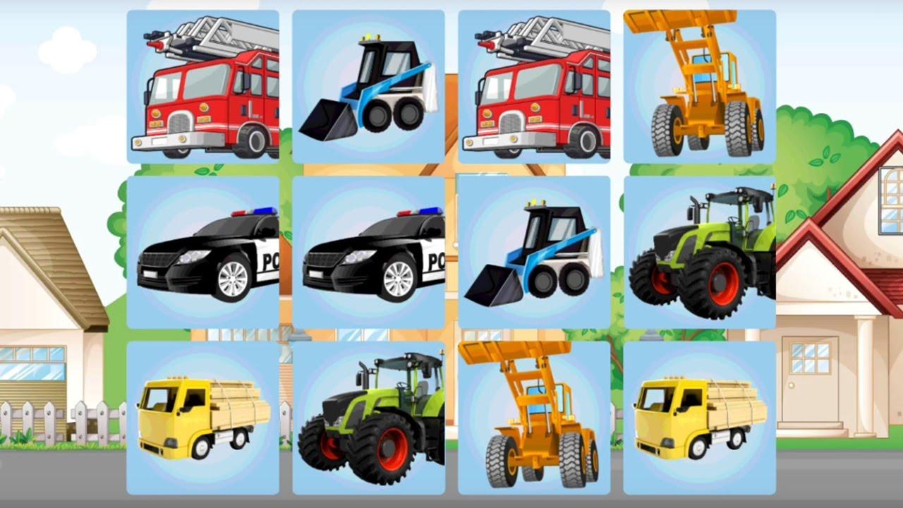 kids cars memory game by ikcstudio educational brain games for children best app for kids