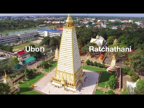 Drone Video Ubon Ratchathani Thailand